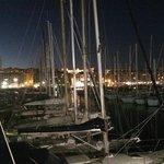 Le port, la Vielle Charité vue de notre table