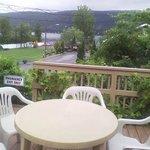 View of beautiful Lake George