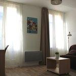 Appartement 4adultes - Sejour avec balcon