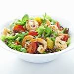 Salad Scampi Italiano