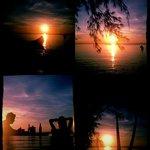 Sunset At Sairee Cottage