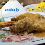 Naab's Lamshank with Dill Rice