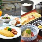 朝食/Buffet & Japanese breakfast