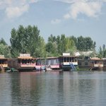 Floating Hotels on Dal Lake