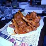 Alette di pollo piccanti