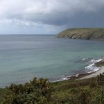 Vault beach, near Gorran Haven, Cornwall