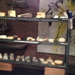 When did you last see a cheese board like that? Amazing!!!