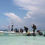 Barco do Centro de Mergulho