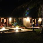 villa 9 by night.
