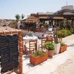 Akrogiali Taverna - seafront taverna.