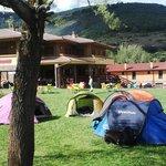 jardines campamento