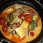 Ternera Curry Rojo