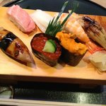 All remarkably fresh and flavorful - especially the O-toro tuna