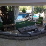 the amazing outdoor lounge
