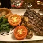 really lovely steak
