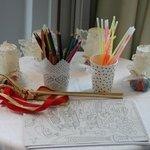 Décoration table enfants mariage N&P