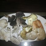 hongos y setas en la cocina