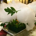 Paan flavoured cotton candy
