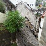 Escadas com chuva... e muita!