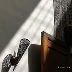 Quelques détails des espaces du Riad