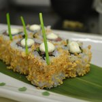Yuzu weekly specials.Smoked salmon with wasabi cream cheese.