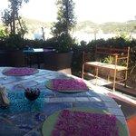 Il giardino della colazione