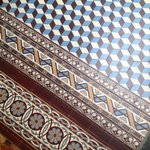 Beautiful tiled floor