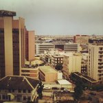 View from the meeting room of a client in Plateau