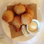 Blue Crab Beignets -- Ambrosial!