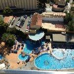 piscinas desde habitacion