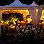Taverna la veneziana Sommerterrasse