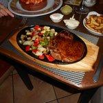 My juicy mouth-watering steak