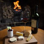 Cheese and Wine by the Fire?
