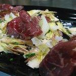 salade d'artichaut cru et cecina