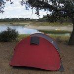 Vista tenda / rio