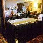 Nice large tub in room