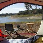 Vista tenda