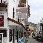 Very nice restaurant in Kalkan