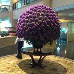 Lobby - fresh floral display