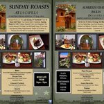 Traditional Sunday Roast at La Capilla - Every last Sunday of the month - see you soon - Reserva