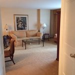 from master bedroom into living room area #5108