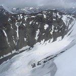 Kanamo peak 5964m, within range from Kaza