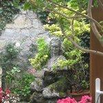 Pretty fountain/feature in the garden