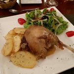 The. Best. Duck. Ever. I love duck. But this duck confit was magnificent.