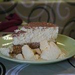 Verrry good cheesecake.