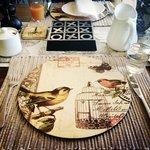 Lovely breakfast setting