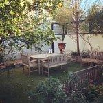 A lovely relaxing garden