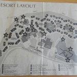 Diagram of the resort