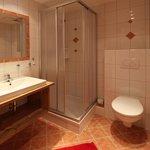 Dusche WC im Appartement