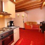 Küche im Appartement 5